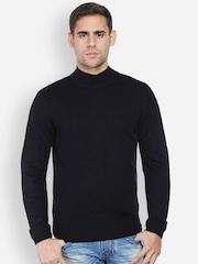 Peter England Men Black Sweater
