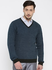 Peter England Blue Sweater