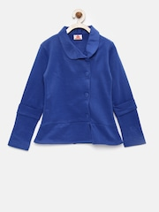UFO Girls Blue Tailored Jacket