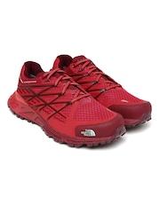 The North Face Women Red Ultra Endurance GTX Trekking Shoes