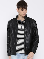 Fort Collins Black Faux Leather Jacket