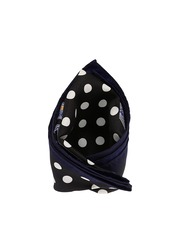 Tossido Black Printed Pocket Square