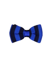 Tossido Blue Striped Bow Tie