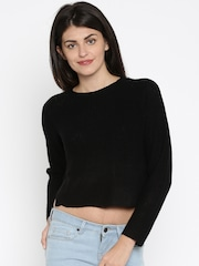 ONLY Women Black Sweater