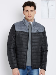 Adidas Black & White WNTOFF Reversible Quilted Jacket