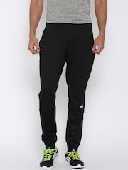 Adidas Black Winter Off Patterned Track Pants