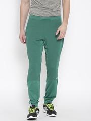 Adidas Green Winter Off Textured Training Track Pants