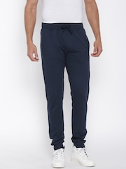 John Players Navy Track Pants