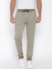 John Players Olive Green & Grey Track Pants