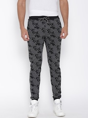 John Players Black & White Patterned Track Pants