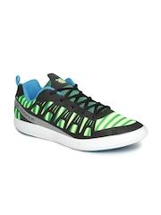 Lee Cooper Men Green & Black Sports Shoes