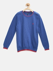 United Colors of Benetton Boys Blue Sweater