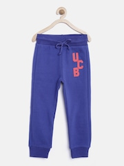 United Colors of Benetton Boys Blue Track Pants