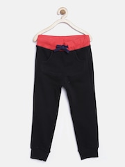 United Colors of Benetton Boys Black Track Pants