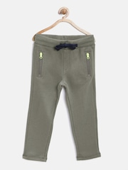 United Colors of Benetton Boys Grey Track Pants
