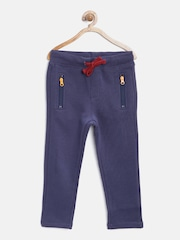 United Colors of Benetton Boys Purple Track Pants