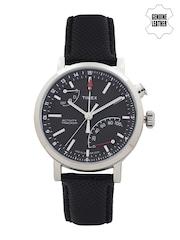 Timex Men Gunmetal-Toned Bluetooth Analogue Watch TW2P81700AA