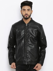 Jack & Jones Black Biker Jacket