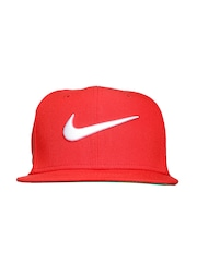 Nike Unisex Red Swoosh Pro Cap