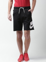Nike Men Black FT GX FRANCHISE Solid Sports Shorts