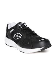 Lotto Men Black OMEGA II Running Shoes
