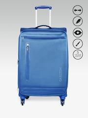CARTLON Unisex Blue Nova Exp Spinner Small Trolley Bag