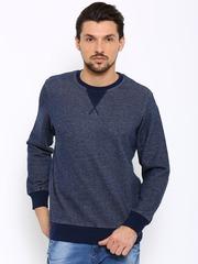 Indian Terrain Men Blue Sweatshirt