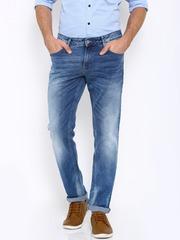 Indian Terrain Men Blue Brooklyn Fit Jeans