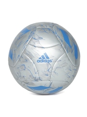 Adidas Men Silver-Toned Messi Q3 Printed Football