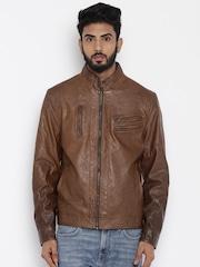 Flying Machine Brown Jacket