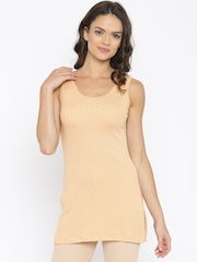 Kanvin Nude-Coloured Thermal Top