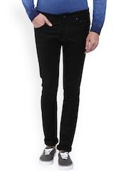 Mufti Men Black Skinny Fit Mid-Rise Clean Look Jeans