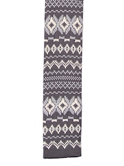 Tossido Grey & White Knitted Tie