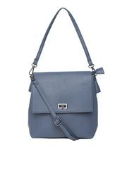 Lisa Haydon for Lino Perros Teal Blue Shoulder Bag with Sling Strap
