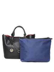 Lisa Haydon for Lino Perros Black Handbag with Pouch