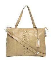 POCKIT Light Brown Shoulder Bag with Sling Strap