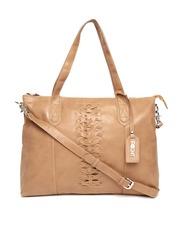 POCKIT Brown Shoulder Bag with Sling Strap