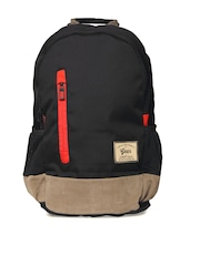 Gear Unisex Black & Grey Campus 8 Backpack
