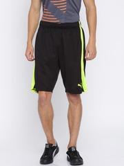 Puma Men Black Solid Formstripe Mesh Shorts 10 Sports Shorts