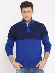 Indian Terrain Blue Sweater