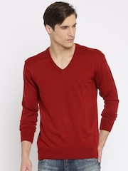 Indian Terrain Red Sweater