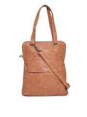 Baggit Brown Shoulder Bag with Sling Strap