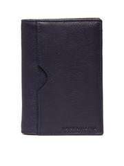 Peter England Men Purple Leather Wallet
