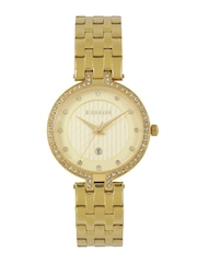 GIORDANO Women Muted Gold-Toned Analogue Watch 2770-22
