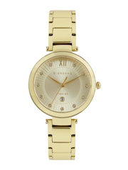 GIORDANO Premier Women Gold-Toned Analogue Watch P2056-11