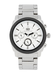 GIO COLLECTION Men White Multi-Function Watch G1011-33