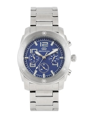 GIO COLLECTION Men Blue Multifunction Analogue Watch G1015-11
