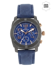GIO COLLECTION Men Blue Multifunction Analogue Watch G1016-06