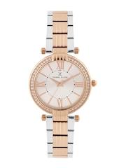 Daniel Klein Premium Women Silver-Toned Dial Watch DK11138-5