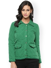 The Vanca Green Quilted Jacket